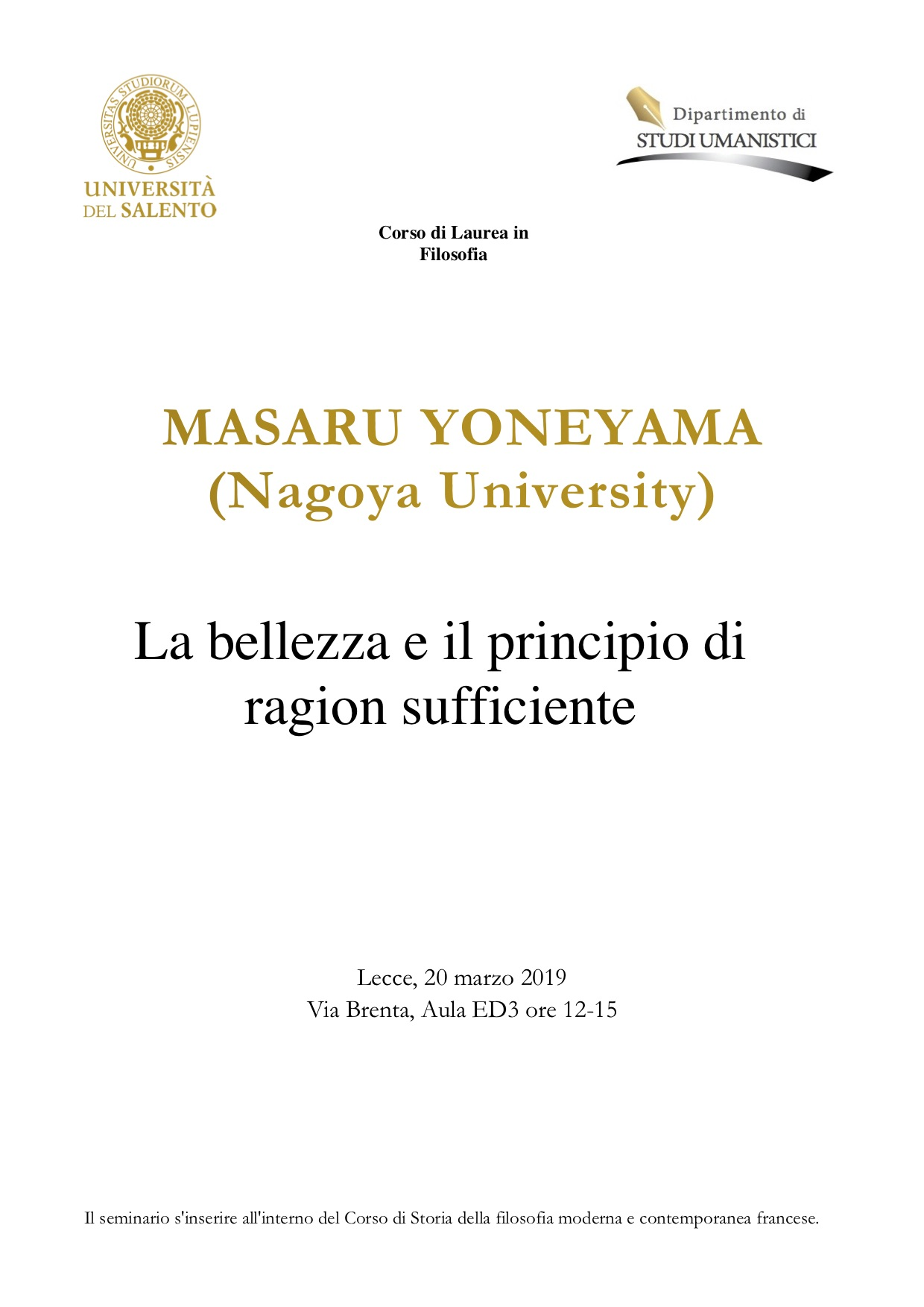Calendario Sedute Di Laurea Unisa.Didattica Dei Dip Di Studi Umanistici Beni Culturali
